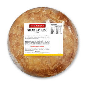 Family Steak and cheese Pie - 650g