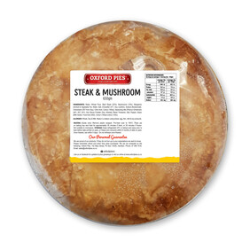 Family Steak and Mushroom Pie - 650g