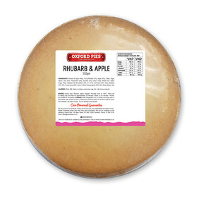 Family Rhubarb and Apple Pie - 550g